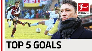 FC Bayern's New Coach - Niko Kovac - Top 5 Goals