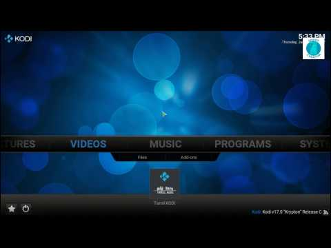 How to Install Tamil Kodi Plugin on KODI ( TAMIL )