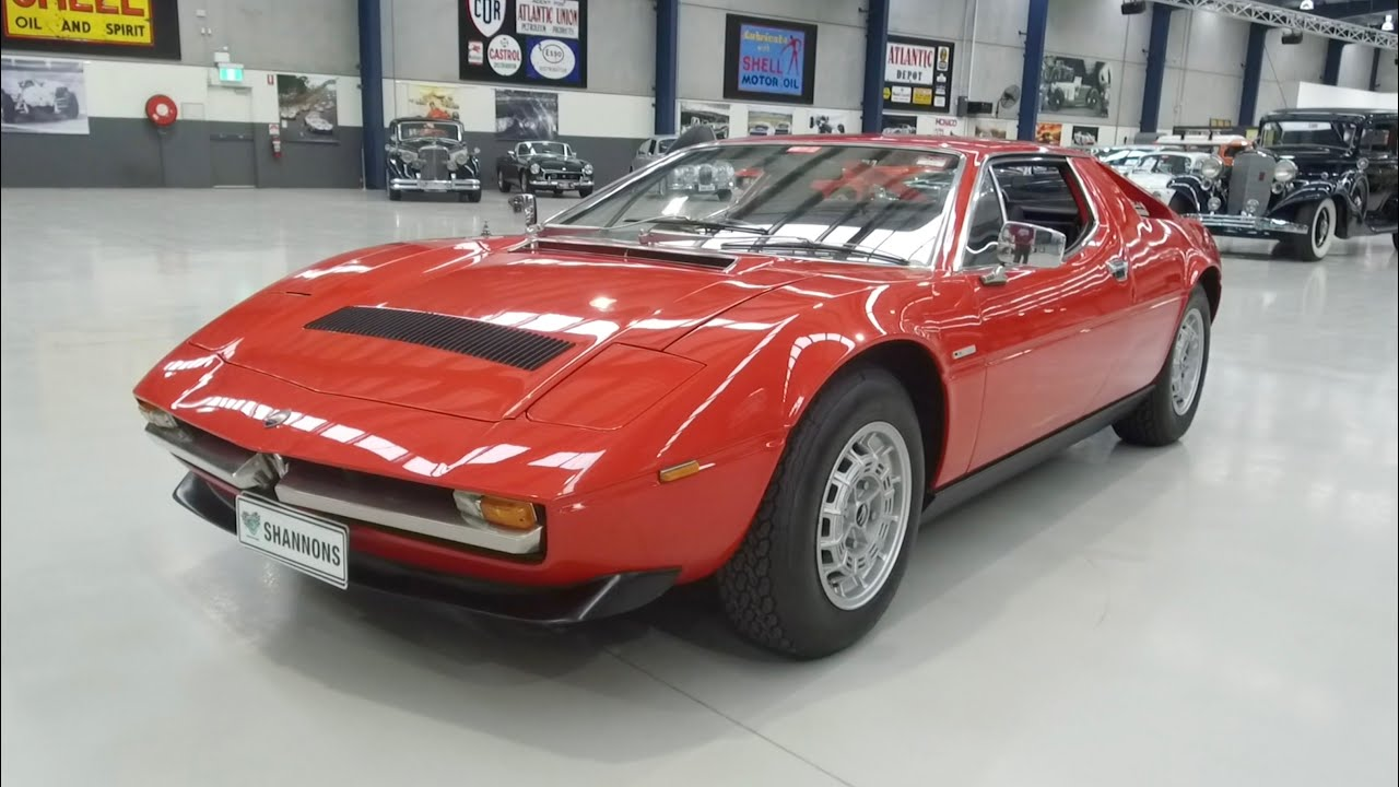 1976 Maserati Merak SS 3.0 V6 Coupe -  2020 Shannons Autumn Timed Online Auction