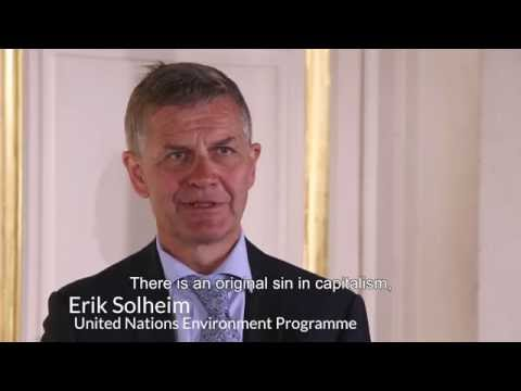 Erik Solheim's Interview - Sustainable Development: it's time!