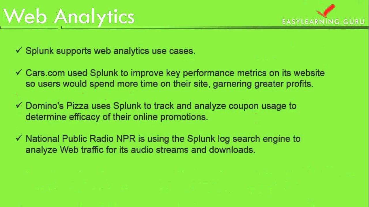 Splunk App Development Tutorial | Splunk Predictive Modelling Analytics