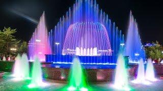 Световой музыкальный фонтан в Усть-Каменогорске