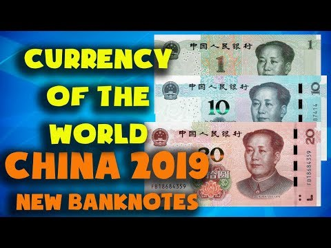 Currency Of The World - China. New Chinese Banknotes And Coins 2019