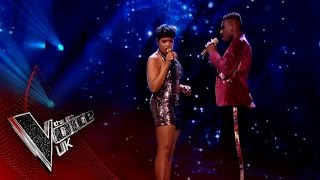 Mo & Jennifer Hudson perform 'Beneath Your Beautiful': The Final | The Voice UK 2017