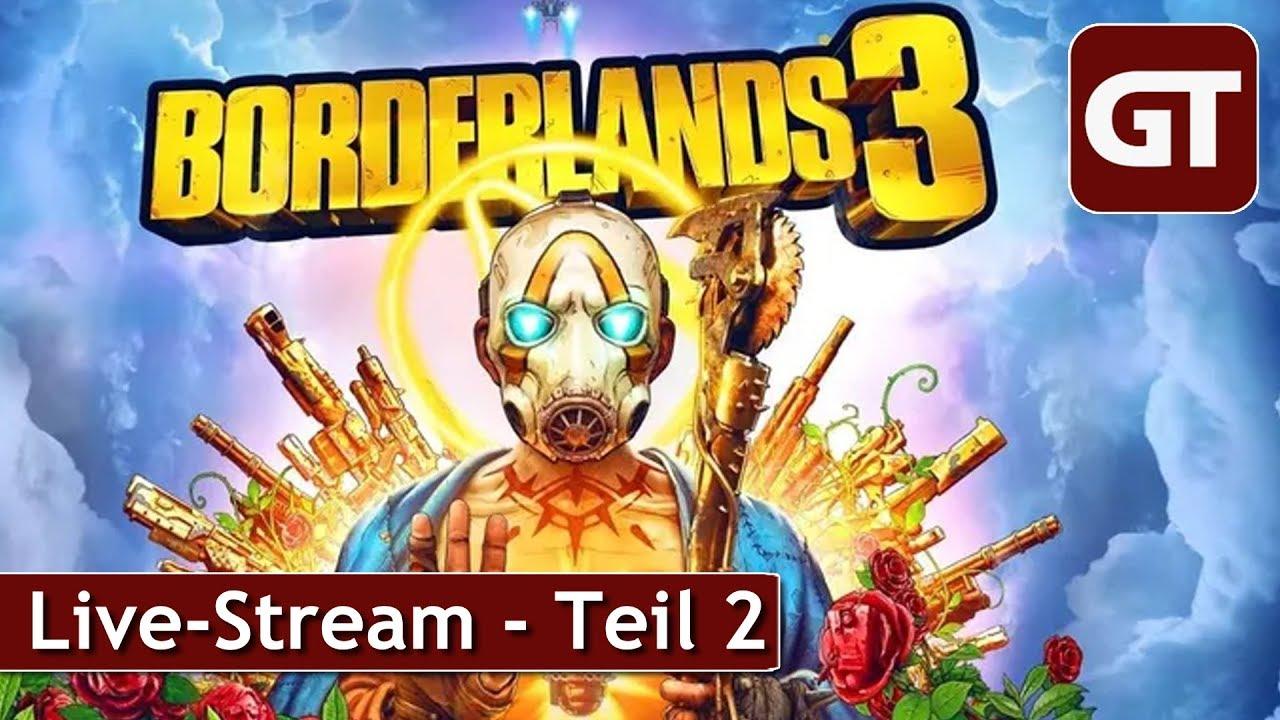 Thumbnail für Und so geht es in Borderlands 3 weiter - Livestream ab 16 Uhr