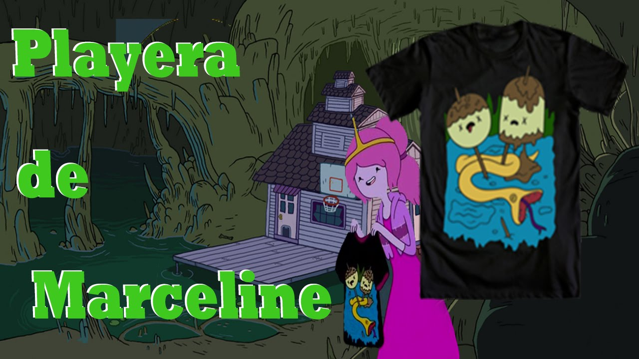 Como hacer la playera de marceline hora de aventura youtube como hacer la playera de marceline hora de aventura thecheapjerseys Images