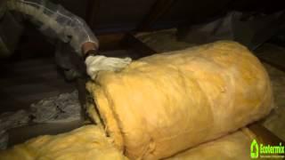 видео Устройство и утепление перекрытия между жилым этажом и холодным чердаком, вентиляция чердака