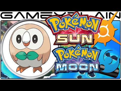 Pokémon Sun & Moon Analysis - Starter Reveal Trailer (Secrets & Hidden Details)