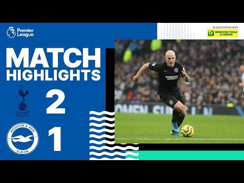 Tottenham Hotspur 2 Brighton & Hove Albion 1