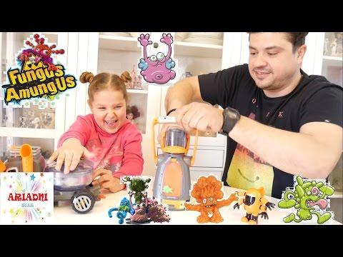 Fungus Amungus ☠ παιχνίδια  ☠ παιχνίδια για παιδιά, greek, ελληνικά, παιδικά,  video για παιδιά