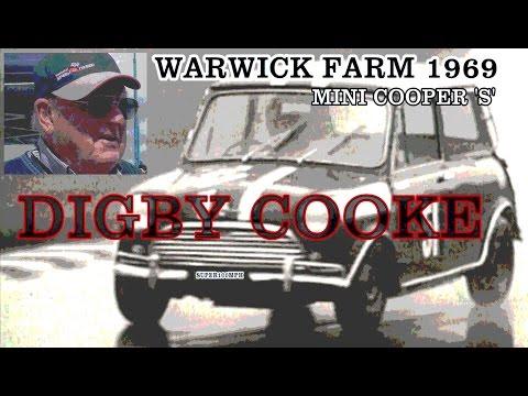 DIGBY COOKE 1969 Warwick Farm - Mini Cooper