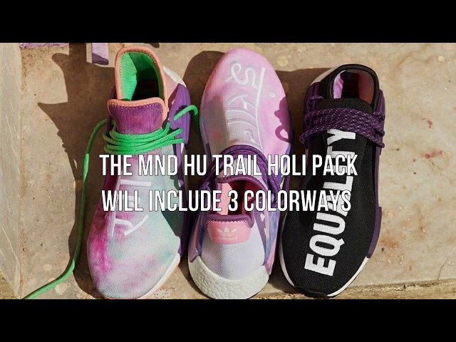 Pharrell Adidas NMD Hu Trail Holi  Early Links for The Festive Pack ... 0088c5b2e