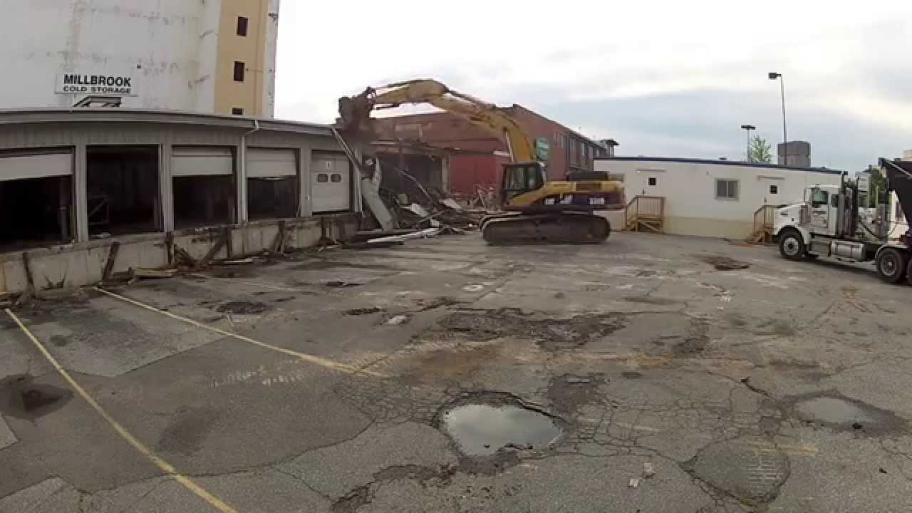 Kidder Wrecking   Millbrook Cold Storage, Somerville, MA