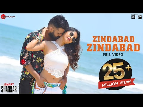 Zindabad Zindabad - Full Video | ISmart Shankar | Ram Pothineni, Nidhhi Agerwal & Nabha Natesh
