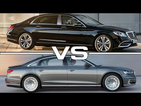 2018 Mercedes Maybach S650 vs 2018 Audi A8 L