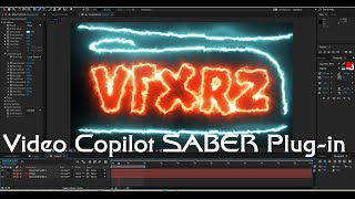 Tutorial Video Copilot SABER Plug-in 2016 | Adobe After Effects
