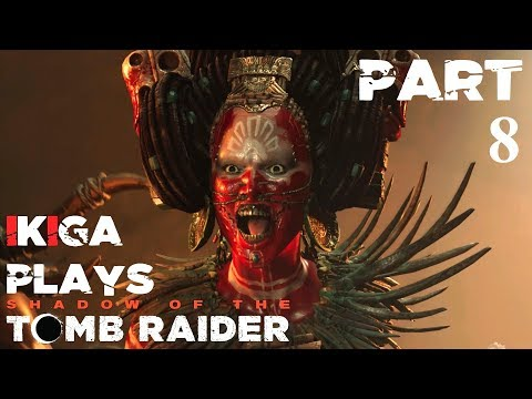 #8 IKIGA PLAYS SHADOW OF THE TOMB RAIDER   CENOTE TEMPLE PUZZLES   NO COMMENTARY PLAYTHROUGH