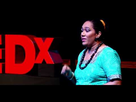 Tattoo and Tapa: Reclaiming Pacific Symbols | Frances C. Koya Vaka'uta | TEDxSuva