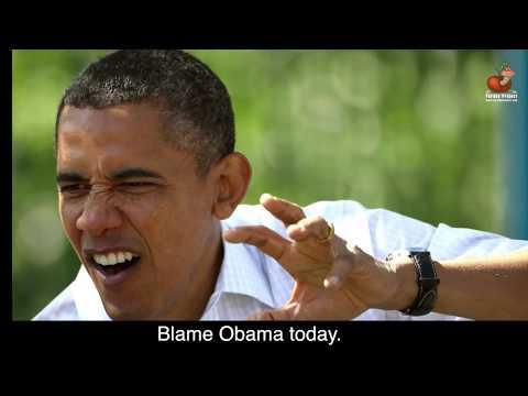 BLAME OBAMA - Parody   Greg Trafidlo / Don Caron