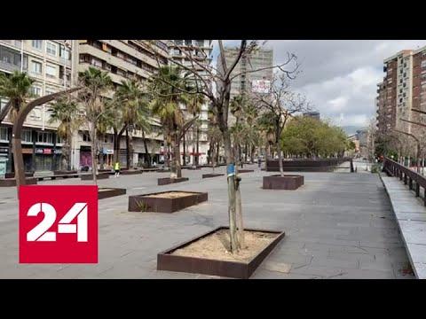 В Испании коронавирусом заразились почти 25 тысяч человек - Россия 24