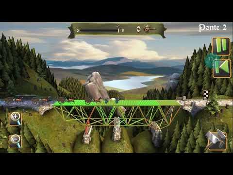 Bridge constructor medieval só me fez passar raiva |