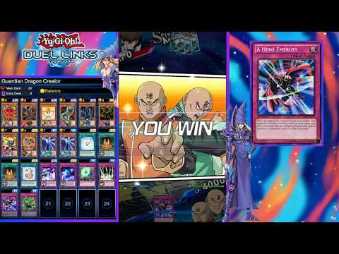 Creation of Guardian Dragons Deck [YuGiOh Duel Links w/ CosmicMonkey]