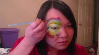 St Patty's Day Eye Design - Face Painting tutorial Thumbnail