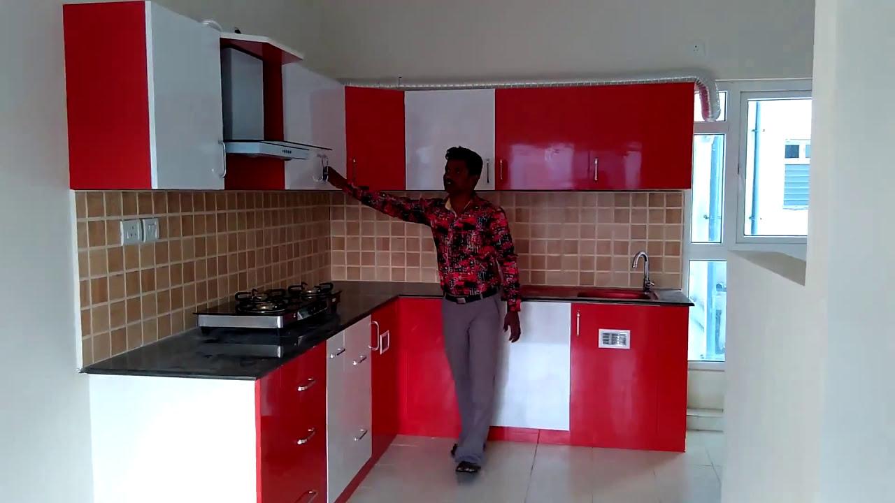 Best Kitchen Gallery: Ramya Modular Kitchen Interiors' Mr Kannan Mahindra World City of Modular Kitchen Interior  on rachelxblog.com