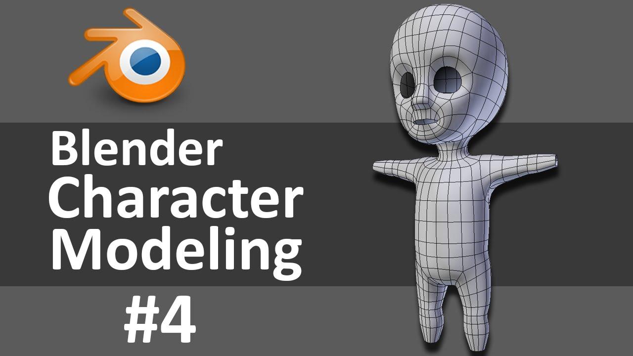 Blender Character Modeling 4 Of 10 : Blender character modeling of youtube