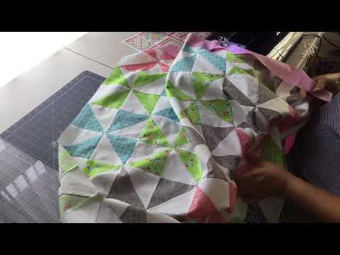 Stitching the Border to the Quilt Top
