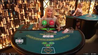 straight Flush 3 card Poker, great Session! High roller