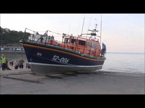 RNLI Llandudno's 'Andy Pearce' Mersey Class Lifeboat