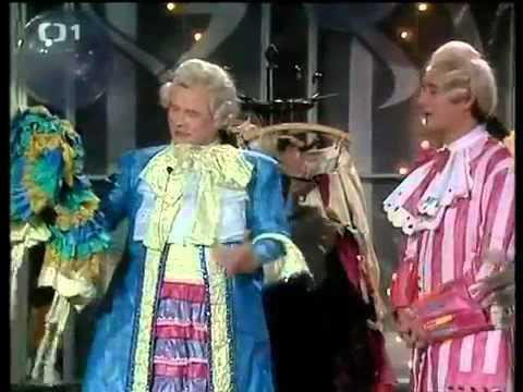 Václav Postránecký a Viktor Preis   scénka z Abecedy 1990