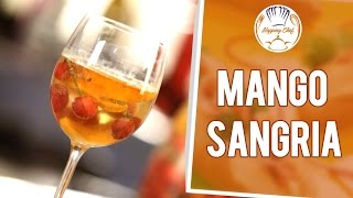 How To Make Mango Sangria By Chef Michael || Hopping Chef