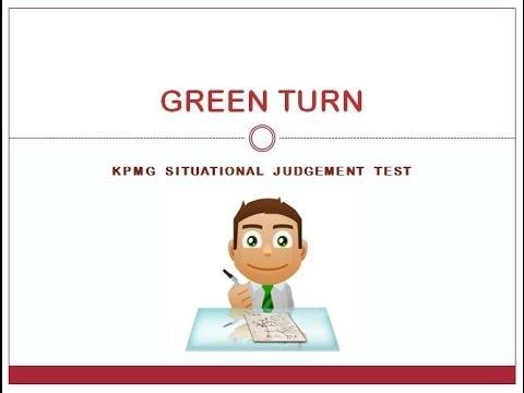 KPMG Situational Judgement Test: KPMG SJT KPMG PAPI Question
