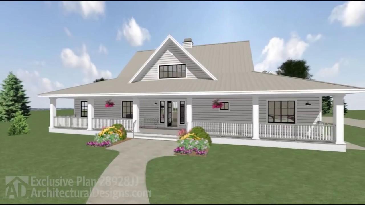 Architectural designs house plan 28928jj virtual tour for House plans virtual tour