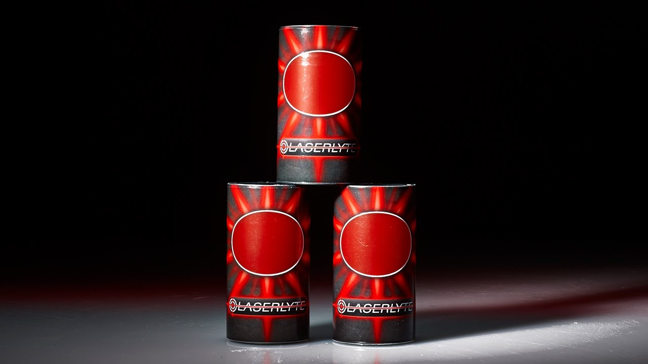 Introducing the LaserLyte Laser Plinking Cans