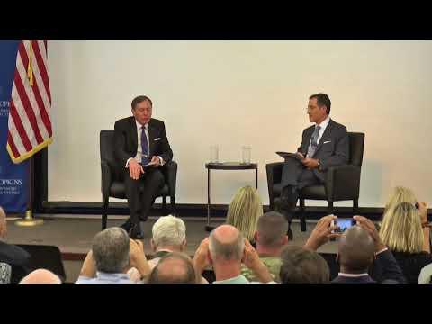 David H. Bernstein Forum Launch with General David H  Petraeus