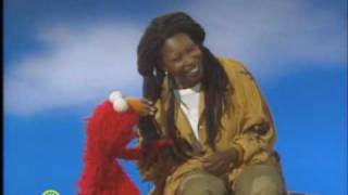 Sesame Street: Whoopi's Skin and Elmo's Fur