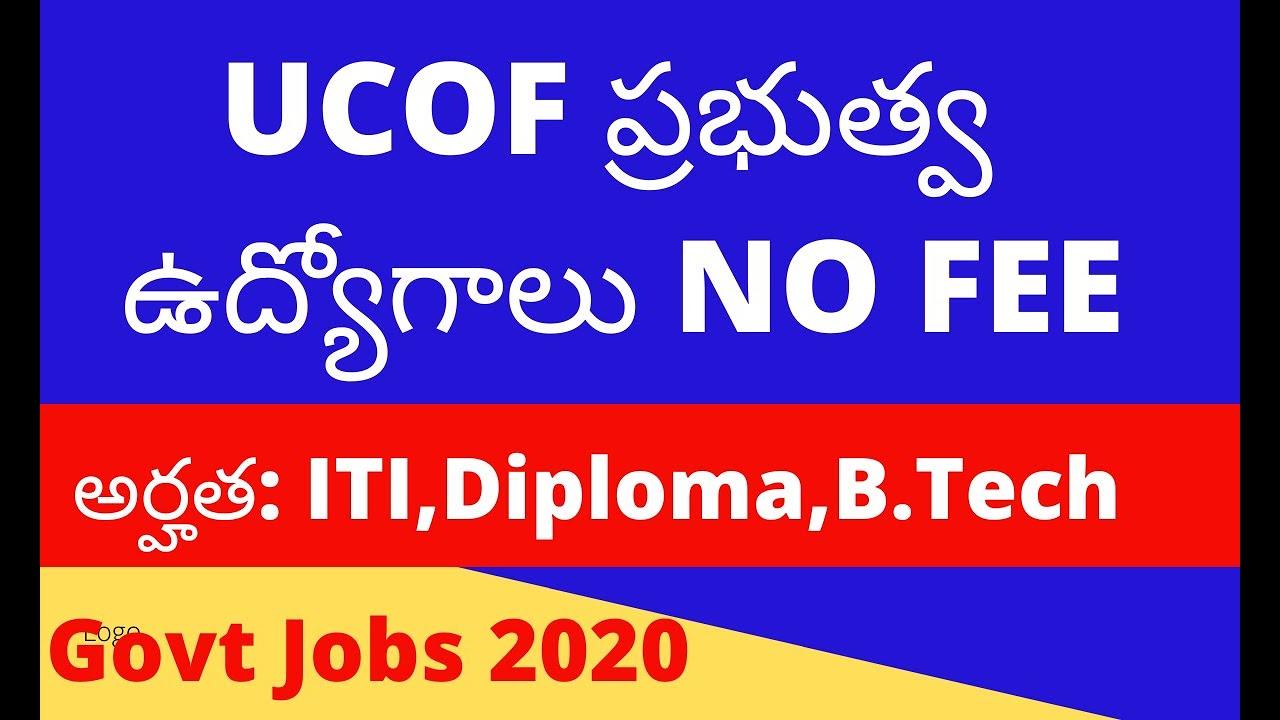 Govt Job update | Jobs in telugu - YouTube