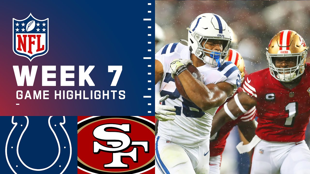Download Colts vs. 49ers Week 7 Highlights | NFL 2021
