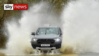 Storm Christoph threatens thousands of UK homes