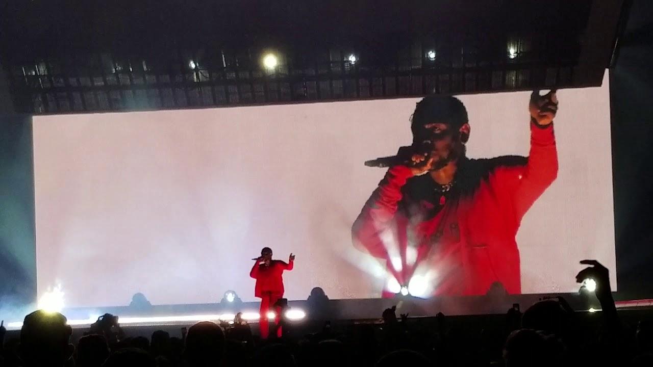 "Kendrick Lamar ""Humble"" live at Golden 1 Center, Sacramento, CA 8/13/2017"