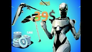 Fortnite Eon skin and 2000 Vbucks for only $40 without buying the whole bundle!!!!!