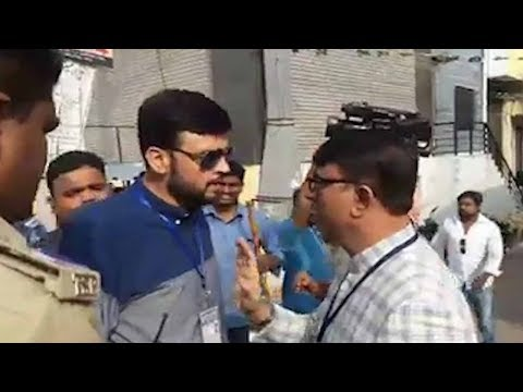 Yaser Arafath Aurgue with MBT Amjedullah Khan in Old City Hyderabad | Yakutpura Elections