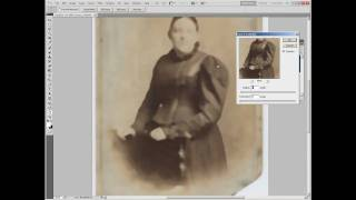 Using Dust and Scratches to Repair background in Photoshop