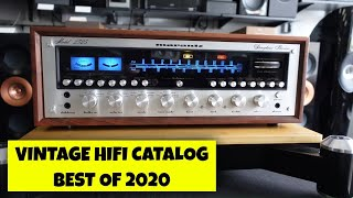 Best Vintage Audio from our 2020 HiFi Catalogs