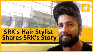 Video Man Who Sets Stylish Hair-Do's For SRK | Raj Gupta download MP3, 3GP, MP4, WEBM, AVI, FLV Oktober 2017