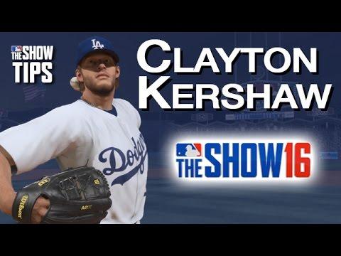 MLB The Show 16  - Clayton Kershaw pitching breakdown