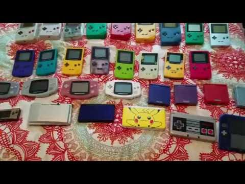 My Nintendo Gameboy and DS Collection
